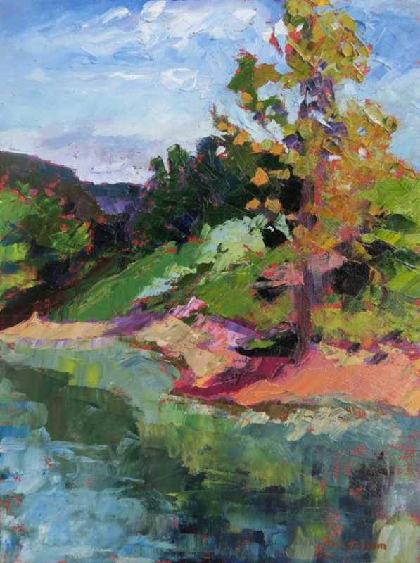 Gilly Pond  by  Pam Folsom