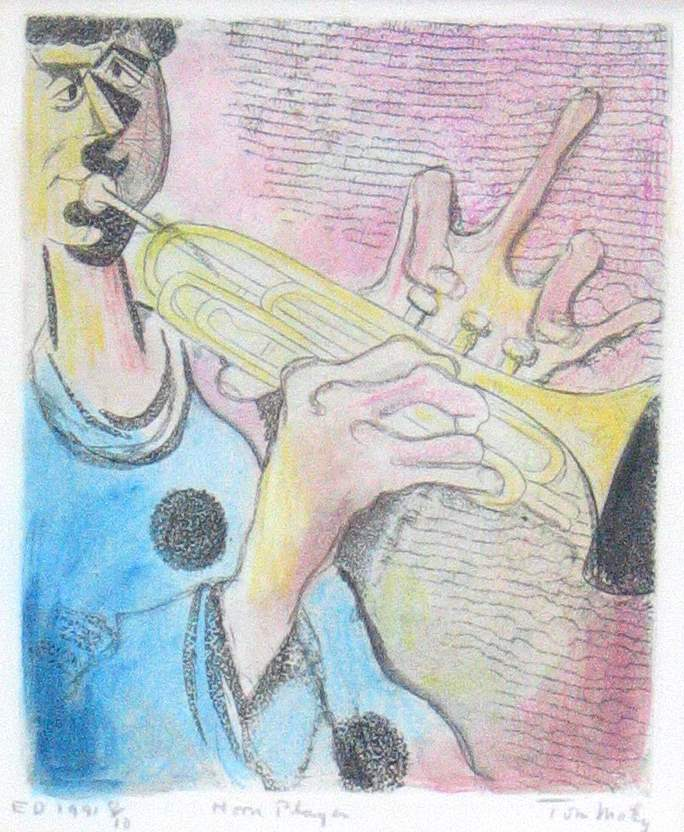 Trumpet Player by  Tom Maley - Masterpiece Online