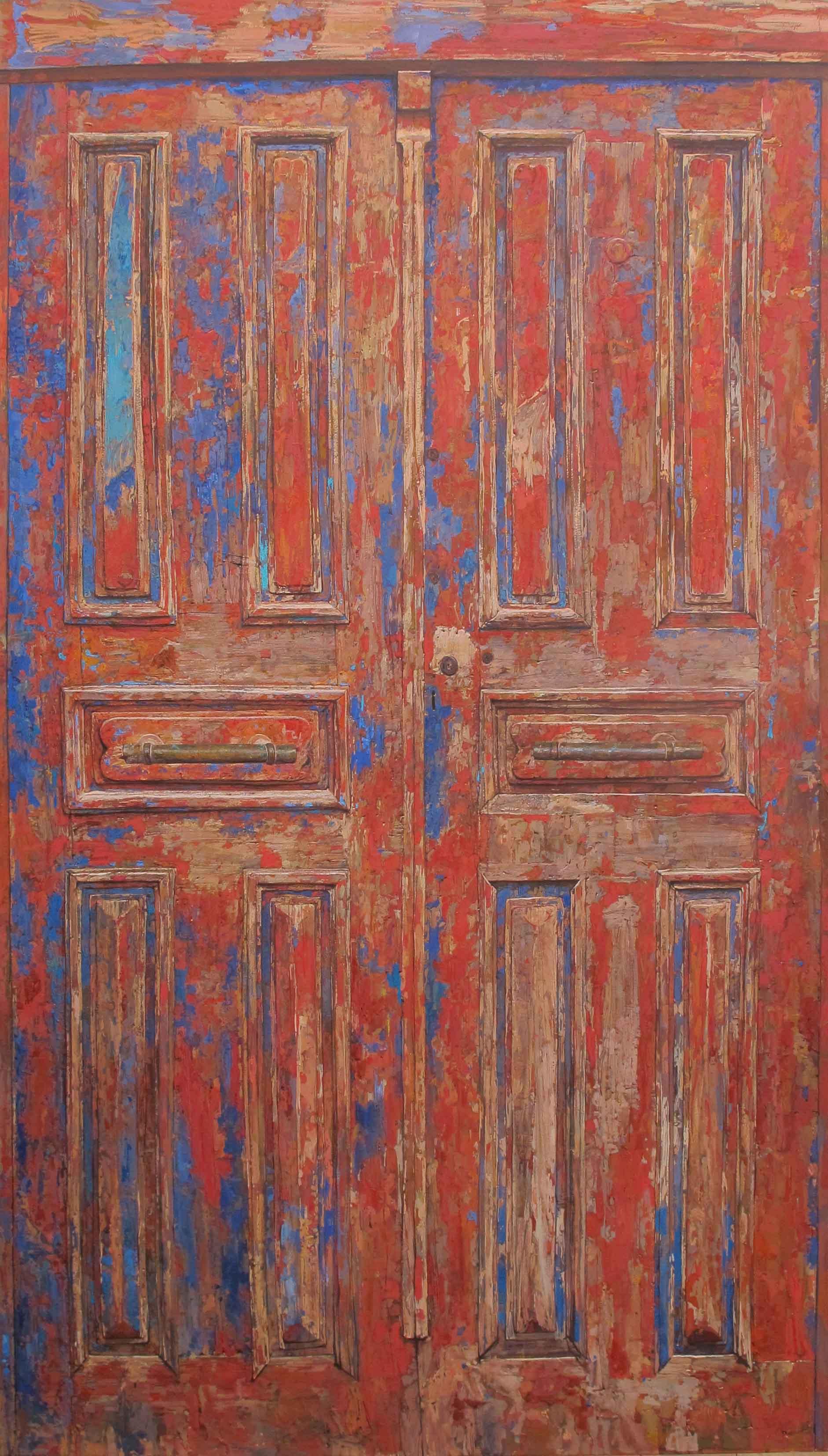 Red Door by  Daud Akhriev - Masterpiece Online