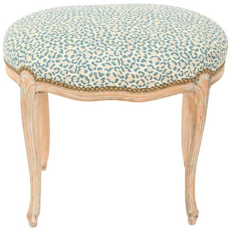 Oval Louis XV Stool w... by  French  - Masterpiece Online