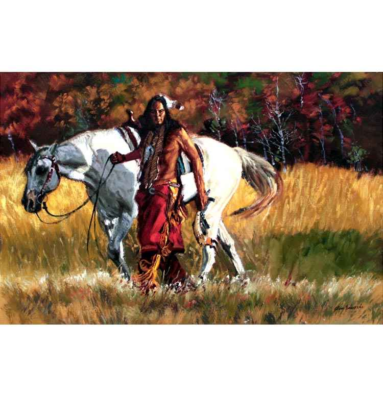 A NEW WORK- Lakota T... by  Glen Edwards - Masterpiece Online