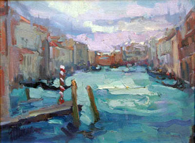 Sky Over Venice by  Lindy  Duncan - Masterpiece Online