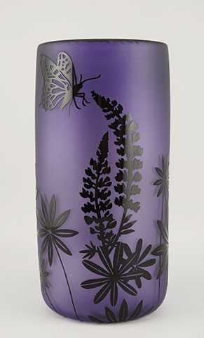 Wildflower Silhouette... by  Ralph Mossman/Mary Mullane - Masterpiece Online