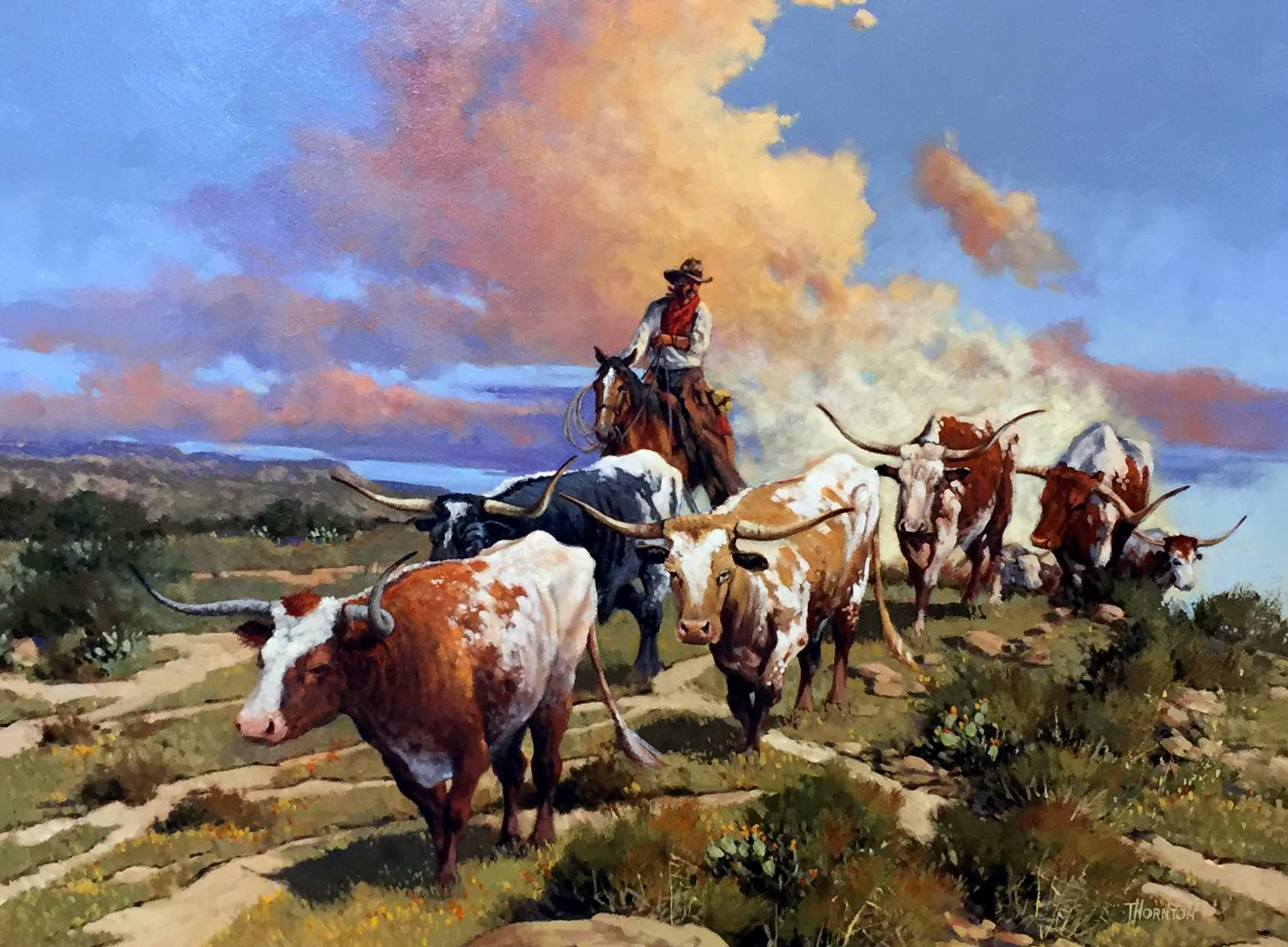 Up from the Brazos by Mr Gary Jack Thornton - Masterpiece Online