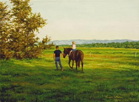 Young Horseman by   Teresa  Wheeler - Masterpiece Online
