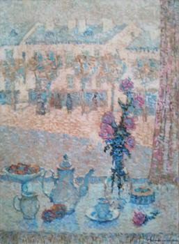 Devant la Fenetre by  Jeanne Selmersheim-Desgrange - Masterpiece Online