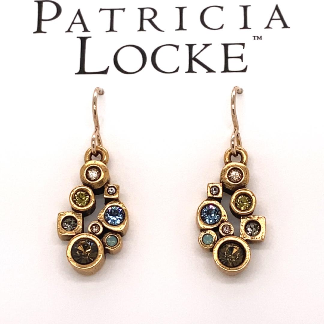 Nectar Earrings in Gold, Cascade