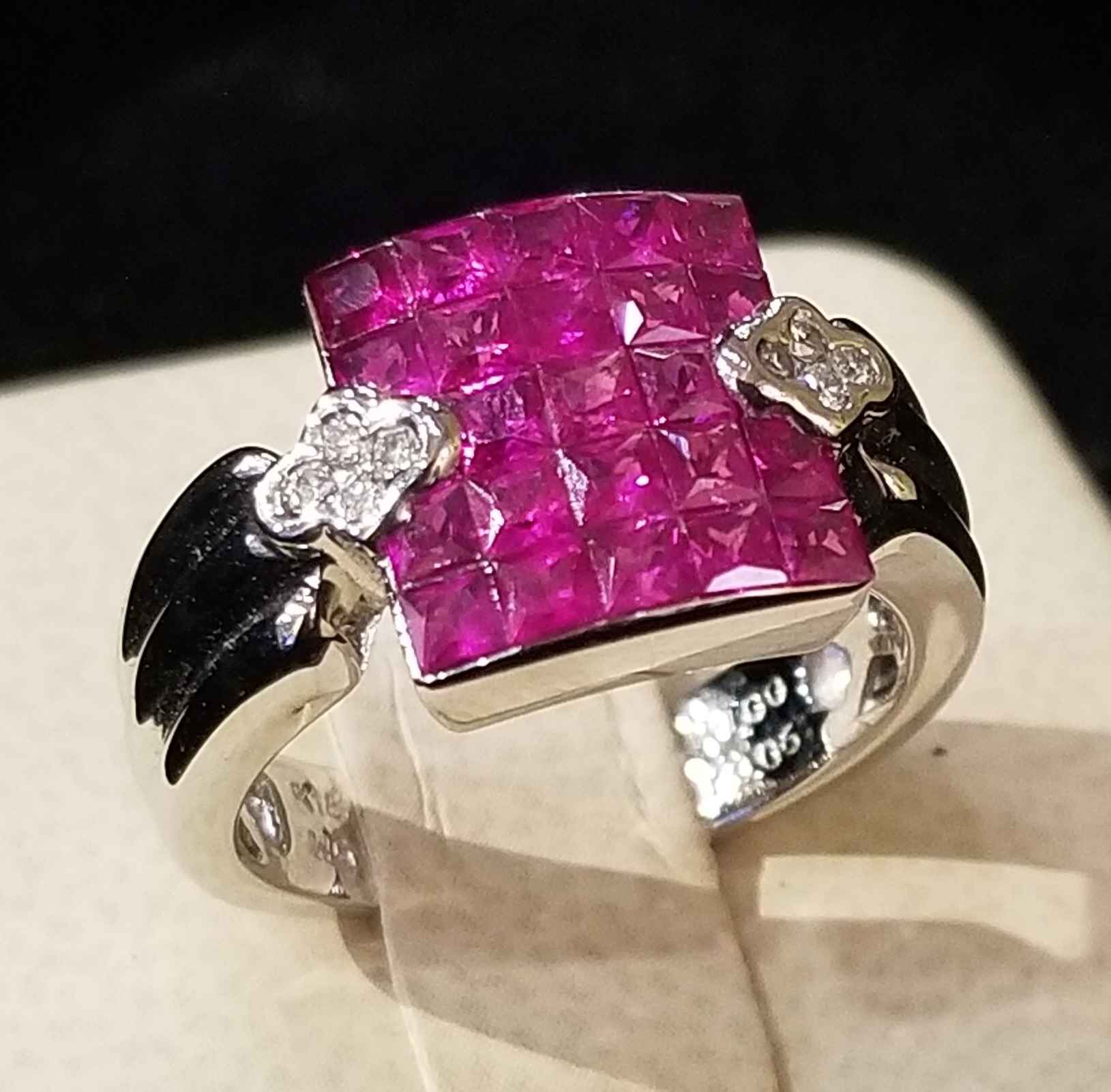 Ruby Ring - WG by  My Jeweler - Masterpiece Online