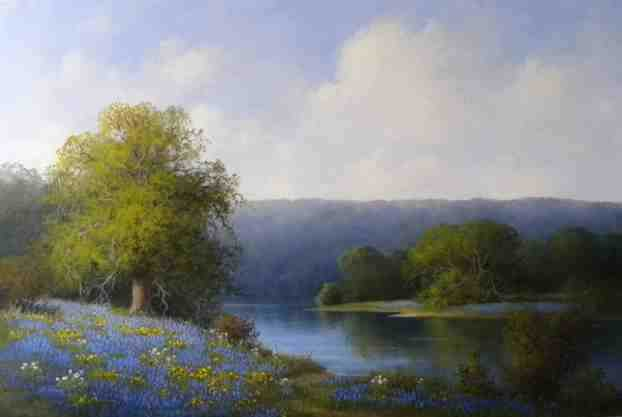 Spring Reflection by Mrs Milbie Benge - Masterpiece Online