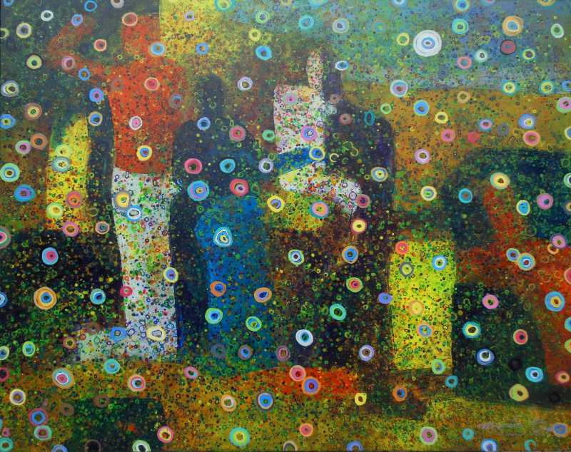 Blue Shadow by  Marcio Diaz - Masterpiece Online