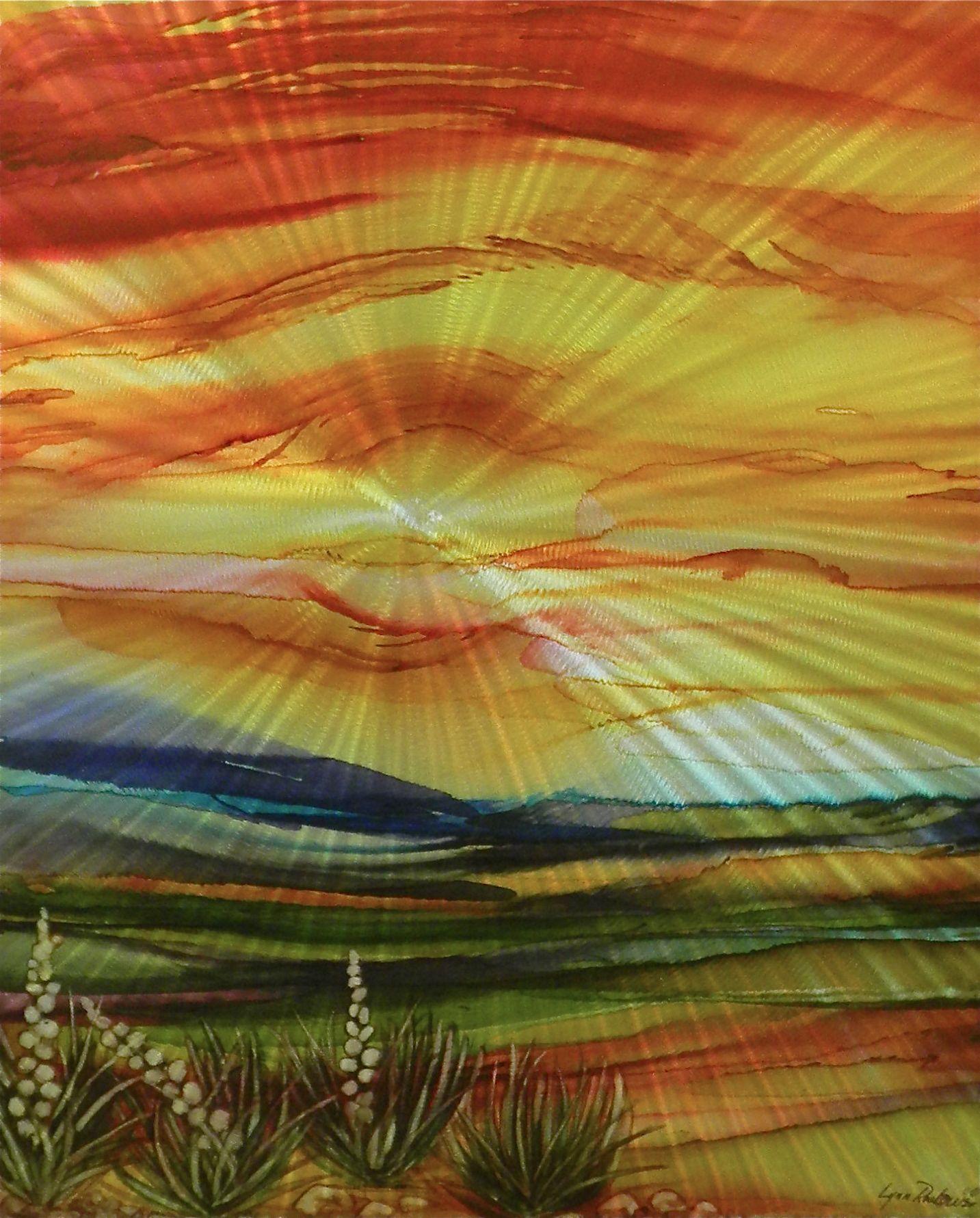 Arizona Morning #245 by  Lynn Rae Lowe - Masterpiece Online