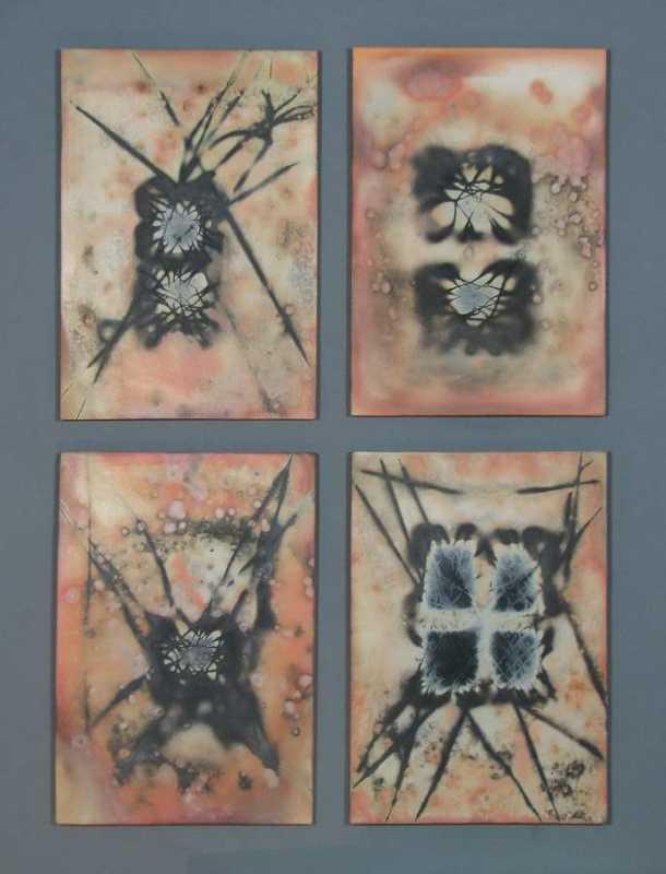 Untitled 4 Panel Pitf... by  David Kuraoka - Masterpiece Online