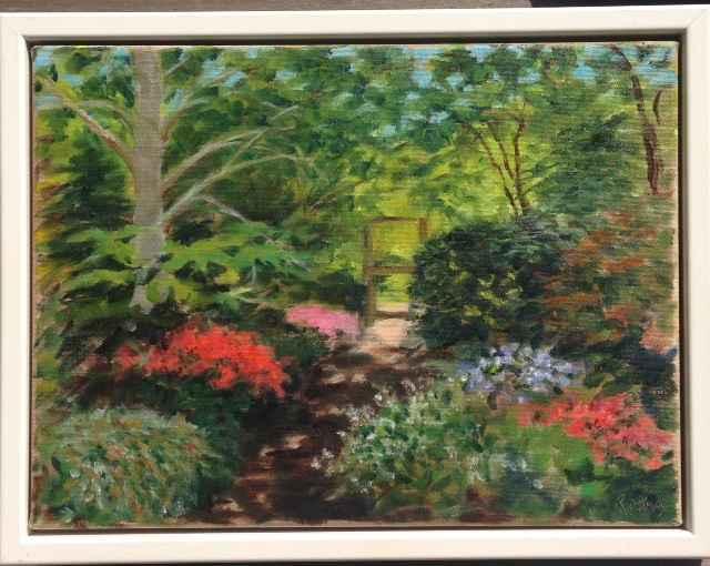 Polly Hill Azaleas by  Gail Rodney - Masterpiece Online