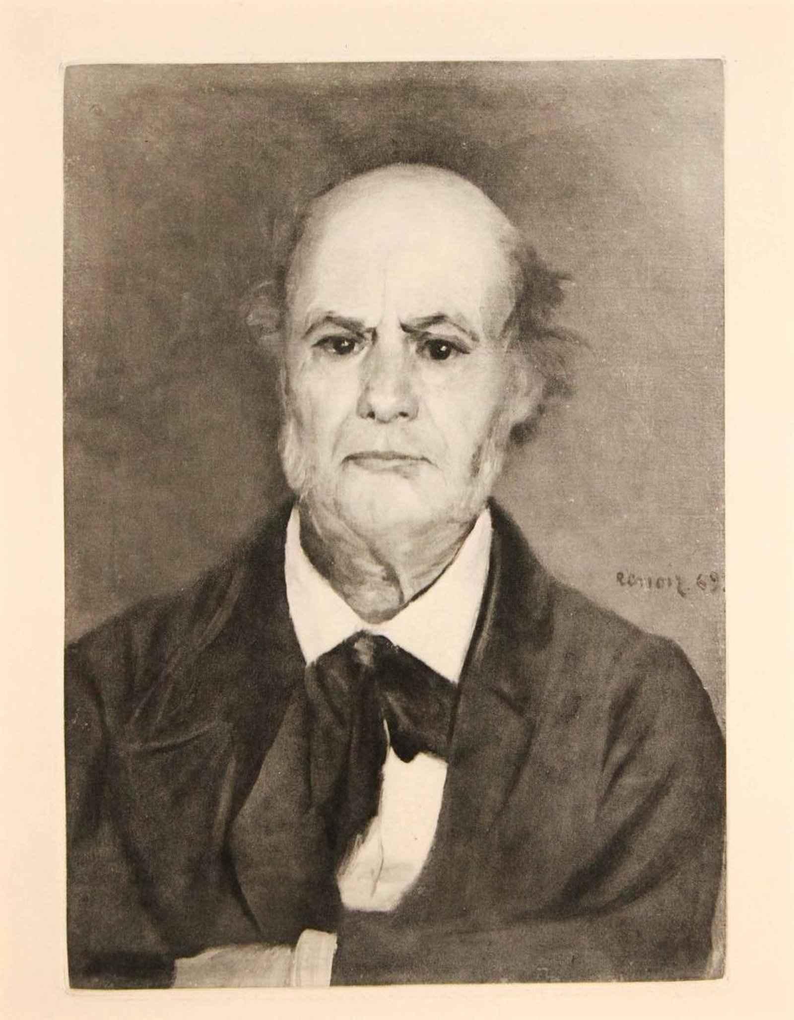 Portrait du Pere de R... by  Pierre-Auguste Renoir - Masterpiece Online