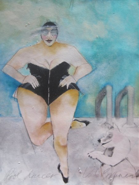 Pool Dance by  Vicki Bruner - Masterpiece Online
