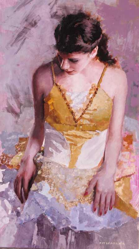 Ballerina Yellow  by  Michael Fitzpatrick