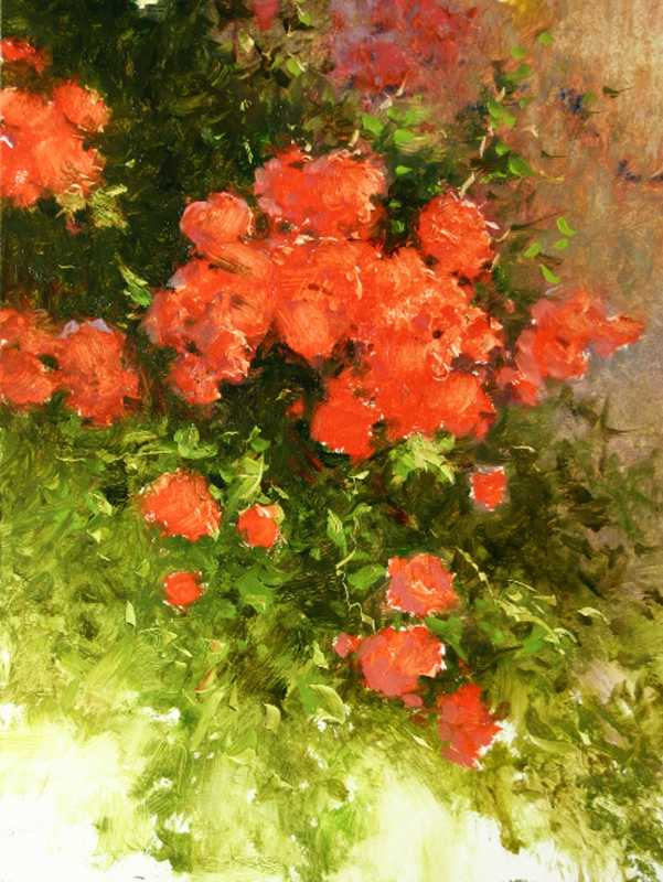 Red Roses by  Dick Heichberger - Masterpiece Online