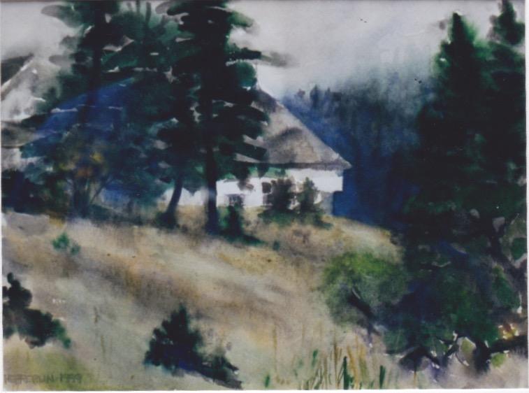 Frechboro Schoolhouse... by  Melissa Hefferlin - Masterpiece Online