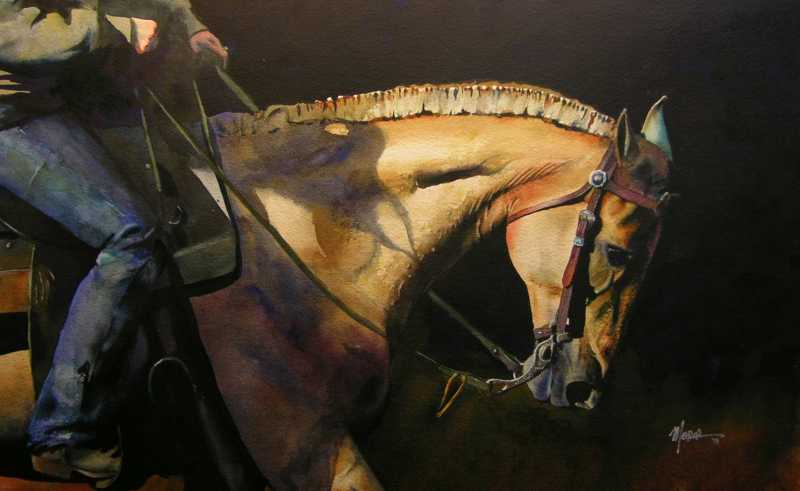 Blue Palomino by Mr Randy Meador - Masterpiece Online