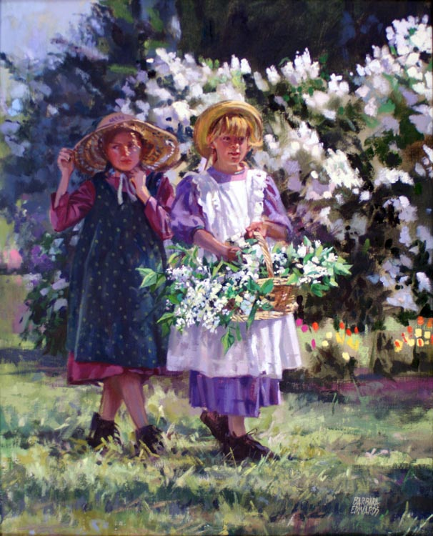 A NEW WORK- Lilac Bl... by  Barbara Summers Edwards - Masterpiece Online