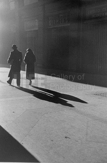 Winter Morning stroll... by  Alfred Eisenstaedt - Masterpiece Online