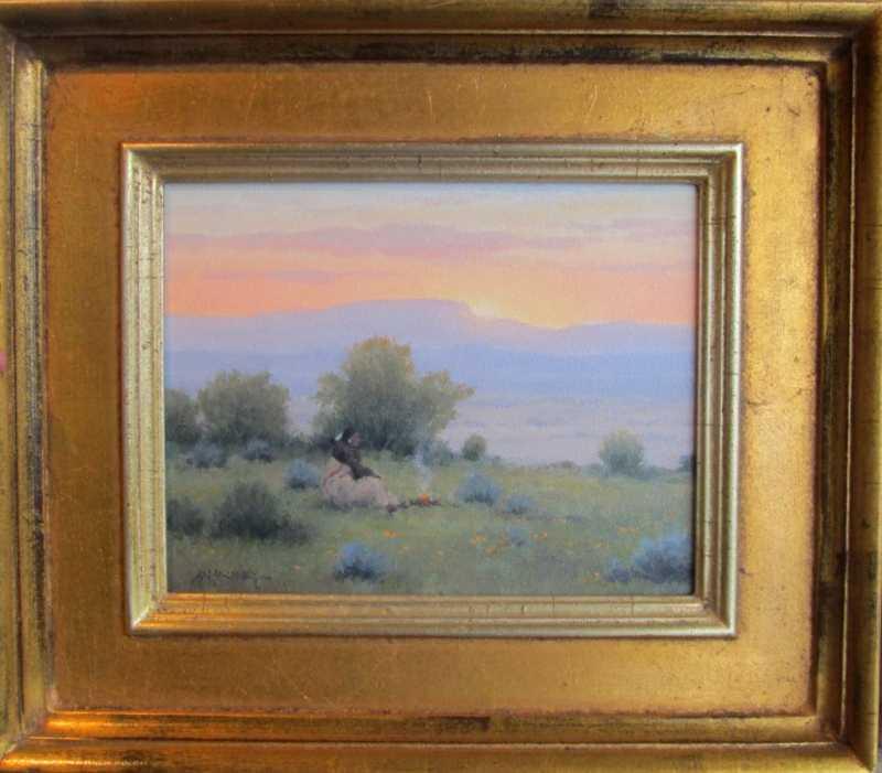 Sunrise Sage Ceremony by  Michael Hadley - Masterpiece Online