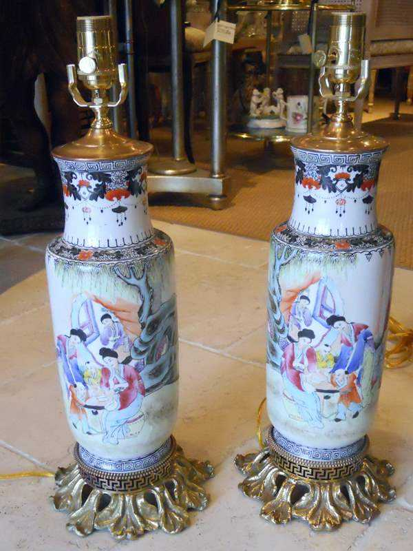 Pair of Lamps by  Chinese  - Masterpiece Online
