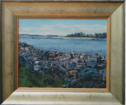 Rocky Shore by  Daud Akhriev - Masterpiece Online
