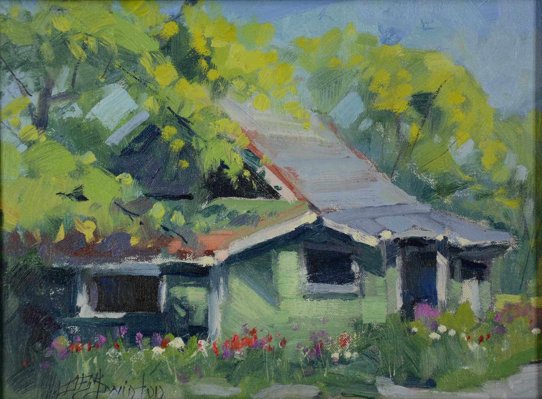 House in Carcross by Mr Doug Swinton - Masterpiece Online