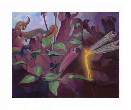 The Dew Drop Fairy Cr... by  Jim Salvati - Masterpiece Online