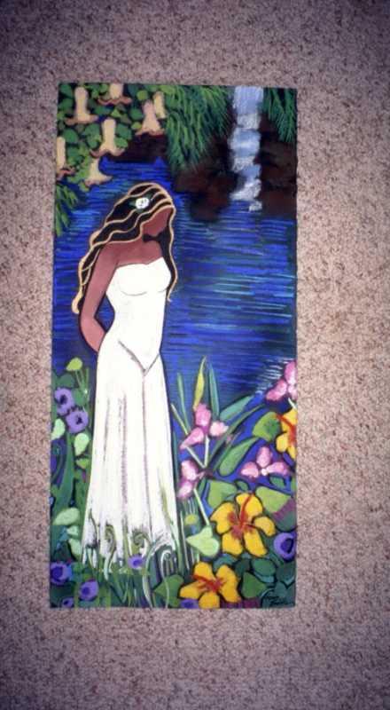 Hana Falls by  Andrea Smith - Masterpiece Online