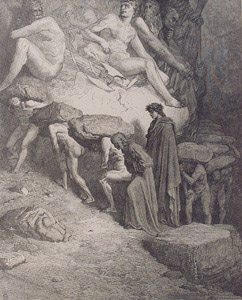With Equal Pace  by  Gustave Dore