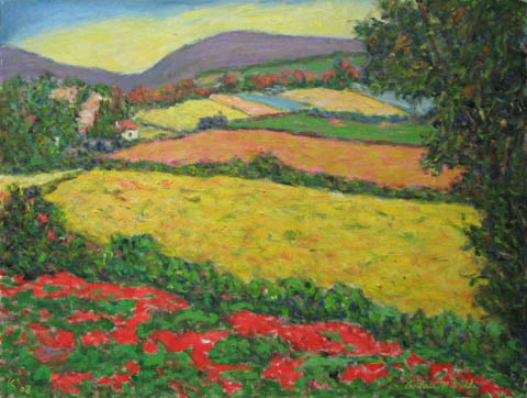 Mid Summer Field by  Andres  Morillo - Masterpiece Online