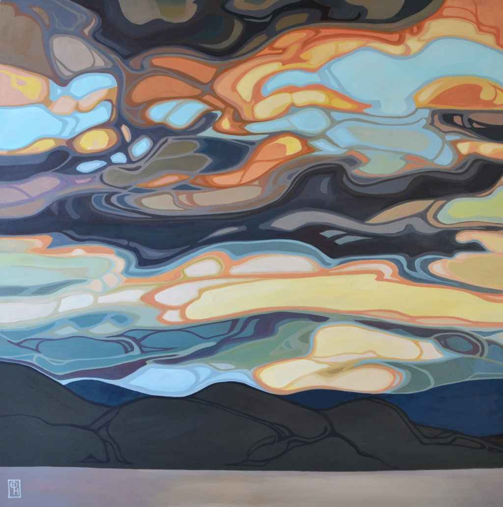 Sky Interlace by  Erica Hawkes - Masterpiece Online