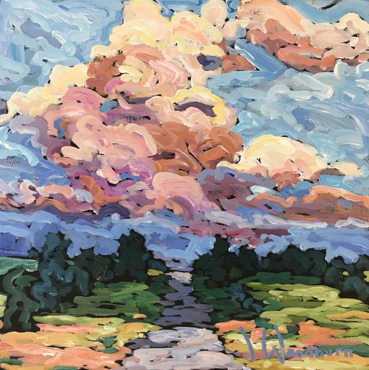 Late Day Cumulus by Ms Jennifer Woodburn - Masterpiece Online