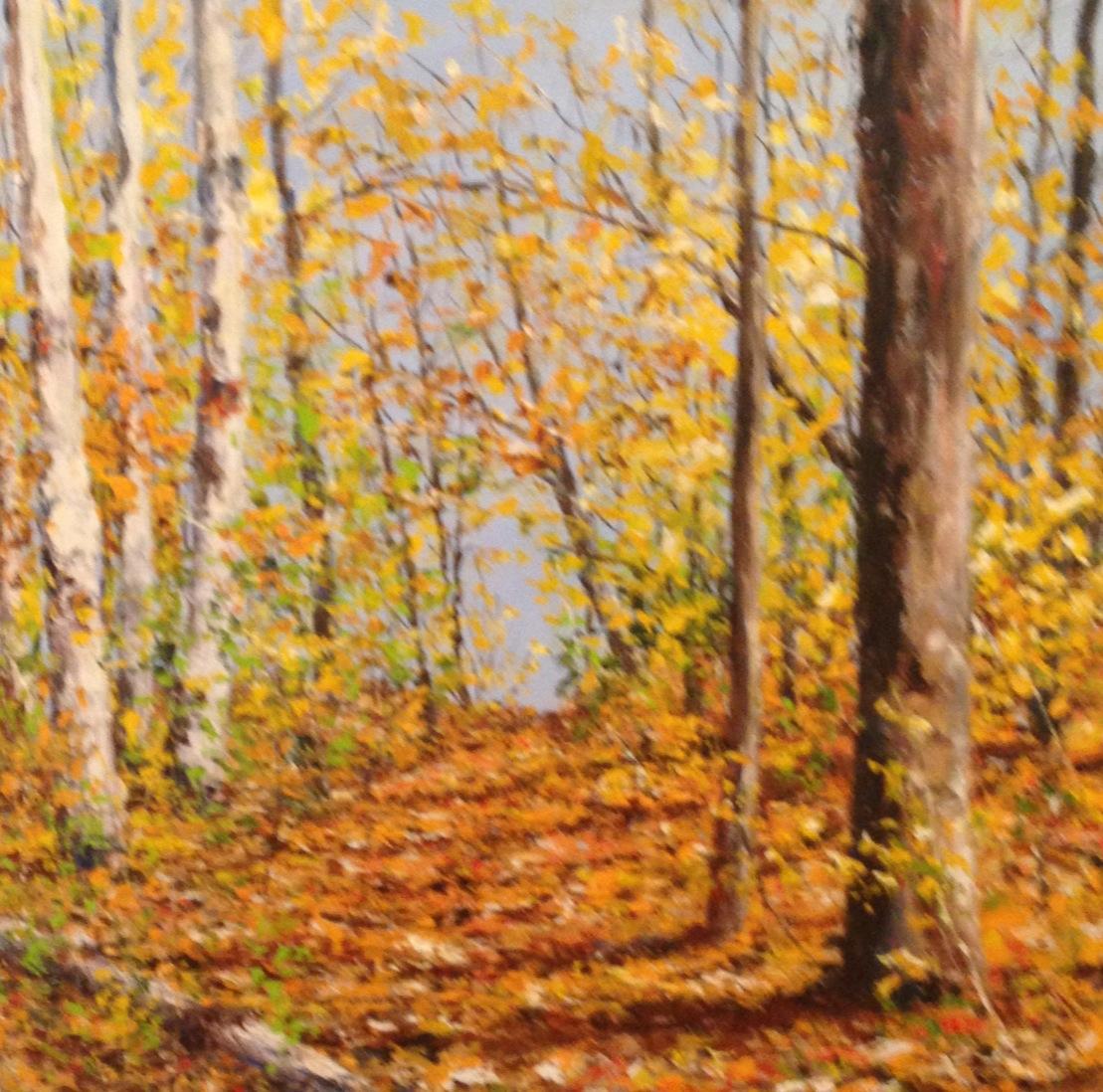 Birch Trail by  Jamie MacLean - Masterpiece Online