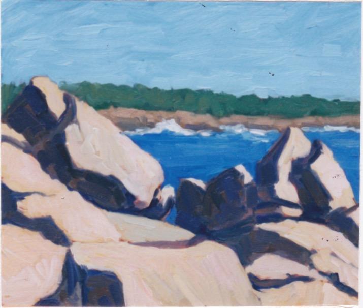 Rock Study, I by  Melissa Hefferlin - Masterpiece Online