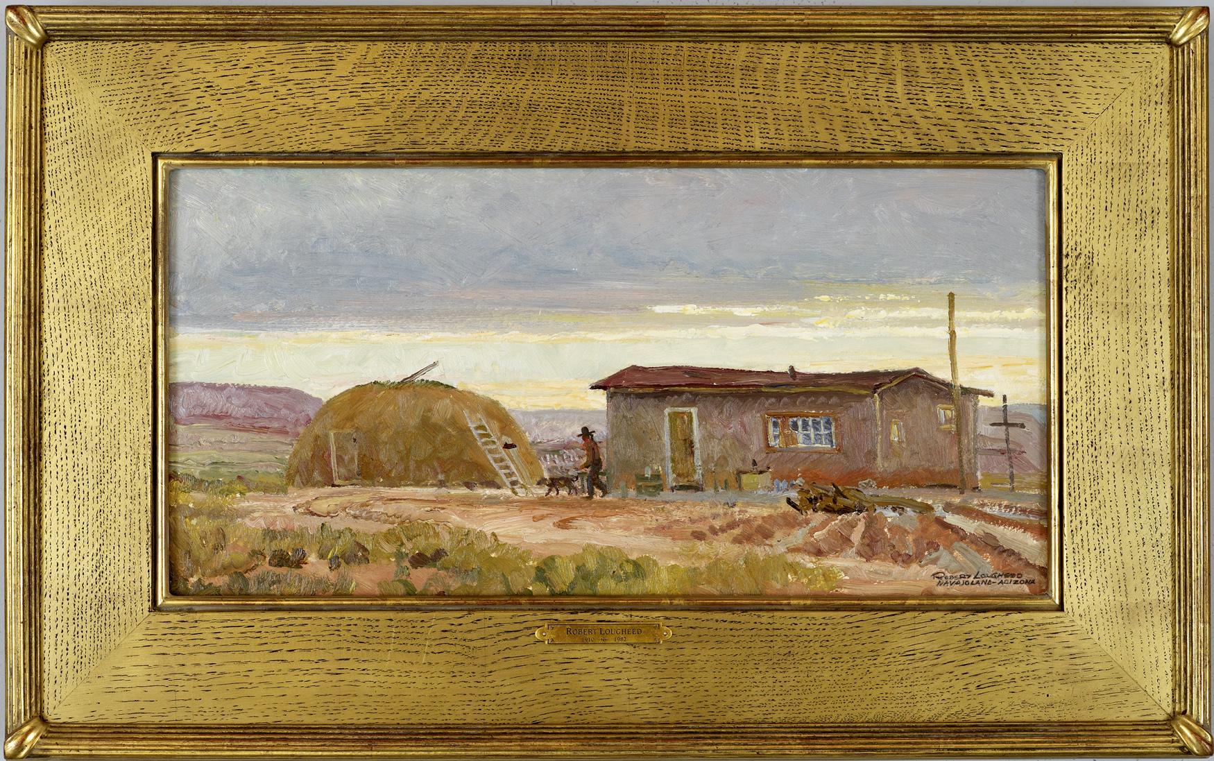 Navajo Land Sunset by  Robert Lougheed - Masterpiece Online