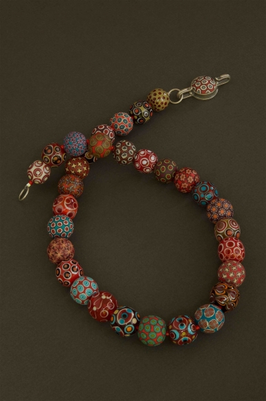 RED TURQUOISE SMALL B... by  Dan Adams Cynthia Toops - Masterpiece Online