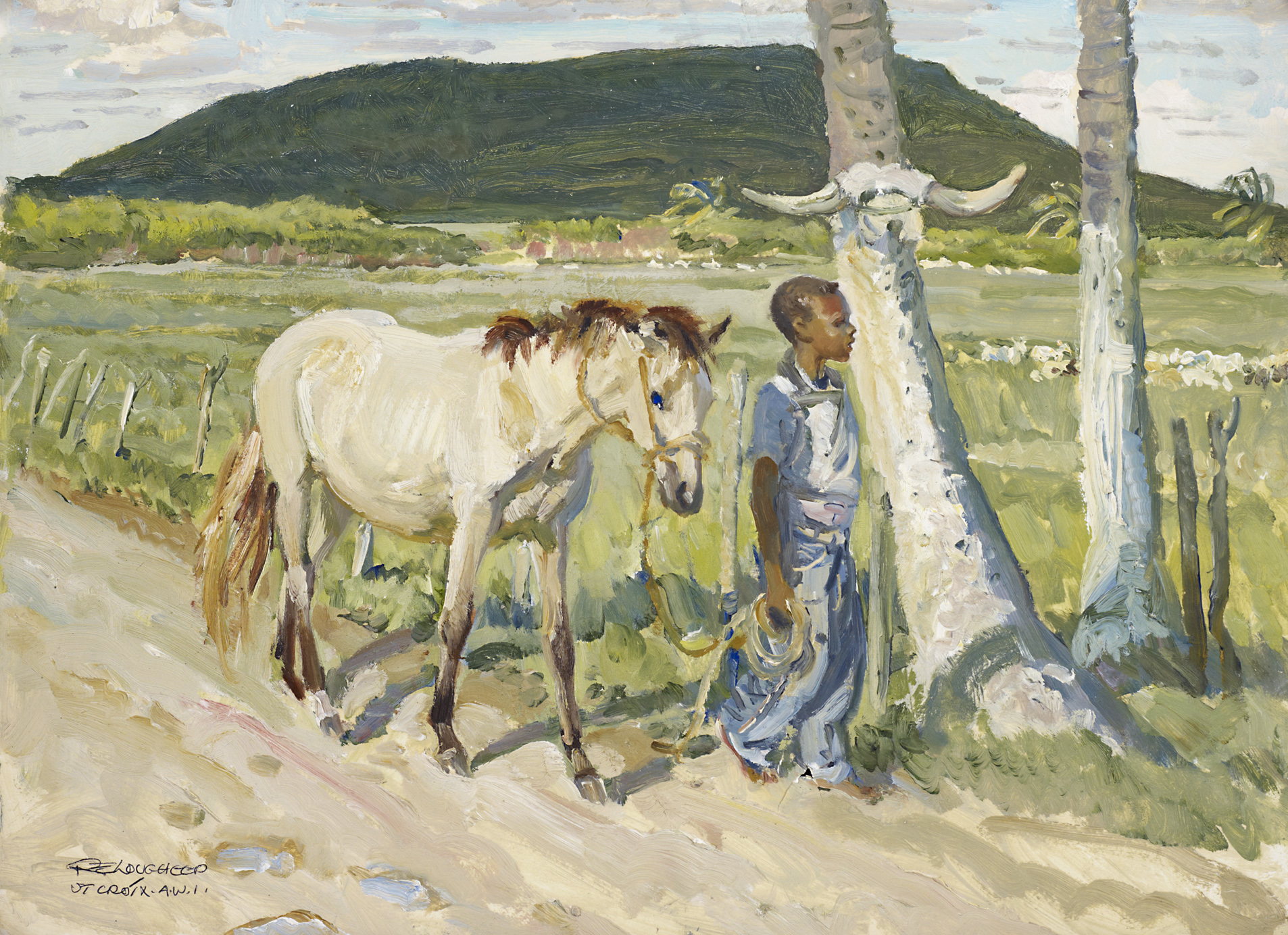 Sinclair Williams and... by  Robert Lougheed - Masterpiece Online