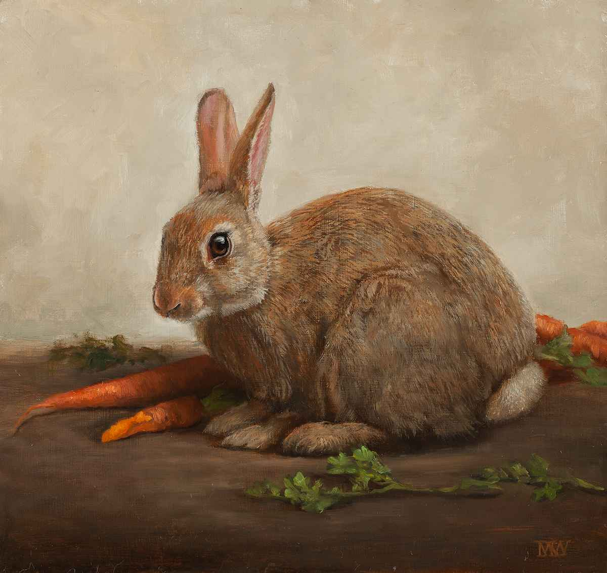 Wild Rabbit by  Mary Kay  West  - Masterpiece Online