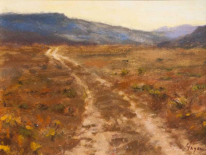 Mesa Road by  Peter Hagen - Masterpiece Online