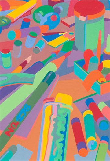 Untitled #14 Art Supp...  by  Gary Pruner