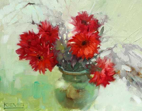 The Red Bouquet  by  Fran Kievet