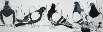 Flock by  Mishi Foltyn - Masterpiece Online
