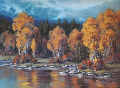 The Approaching Snow by  Allen Lund - Masterpiece Online