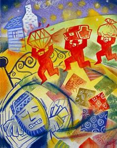 Merchant & The Poor M... by  Mark Weber - Masterpiece Online