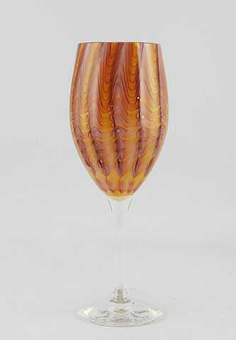 Goblet/Ochre & Purple by  Nathan Sheafor - Masterpiece Online
