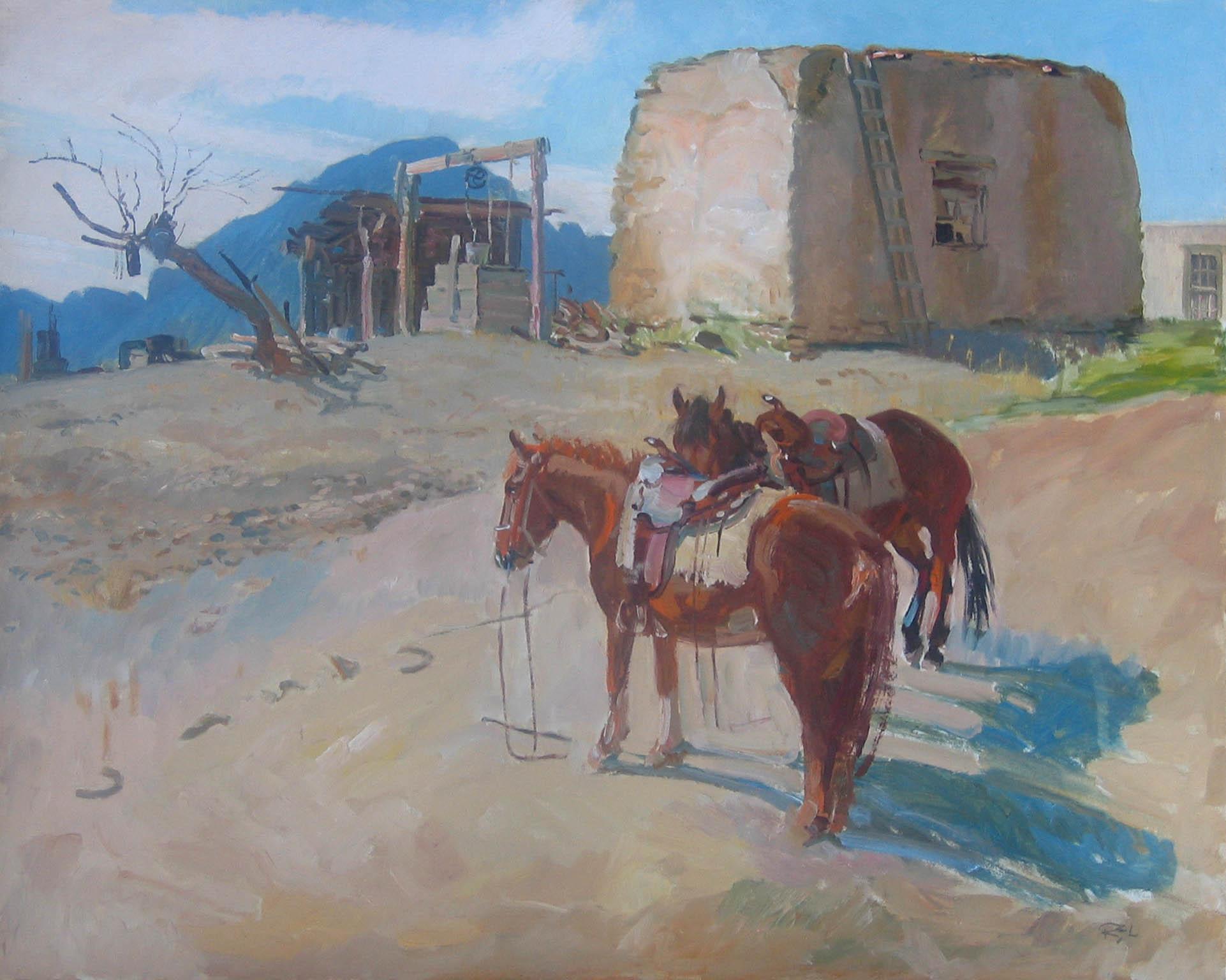 Casa - New Mexico by  Robert Lougheed - Masterpiece Online