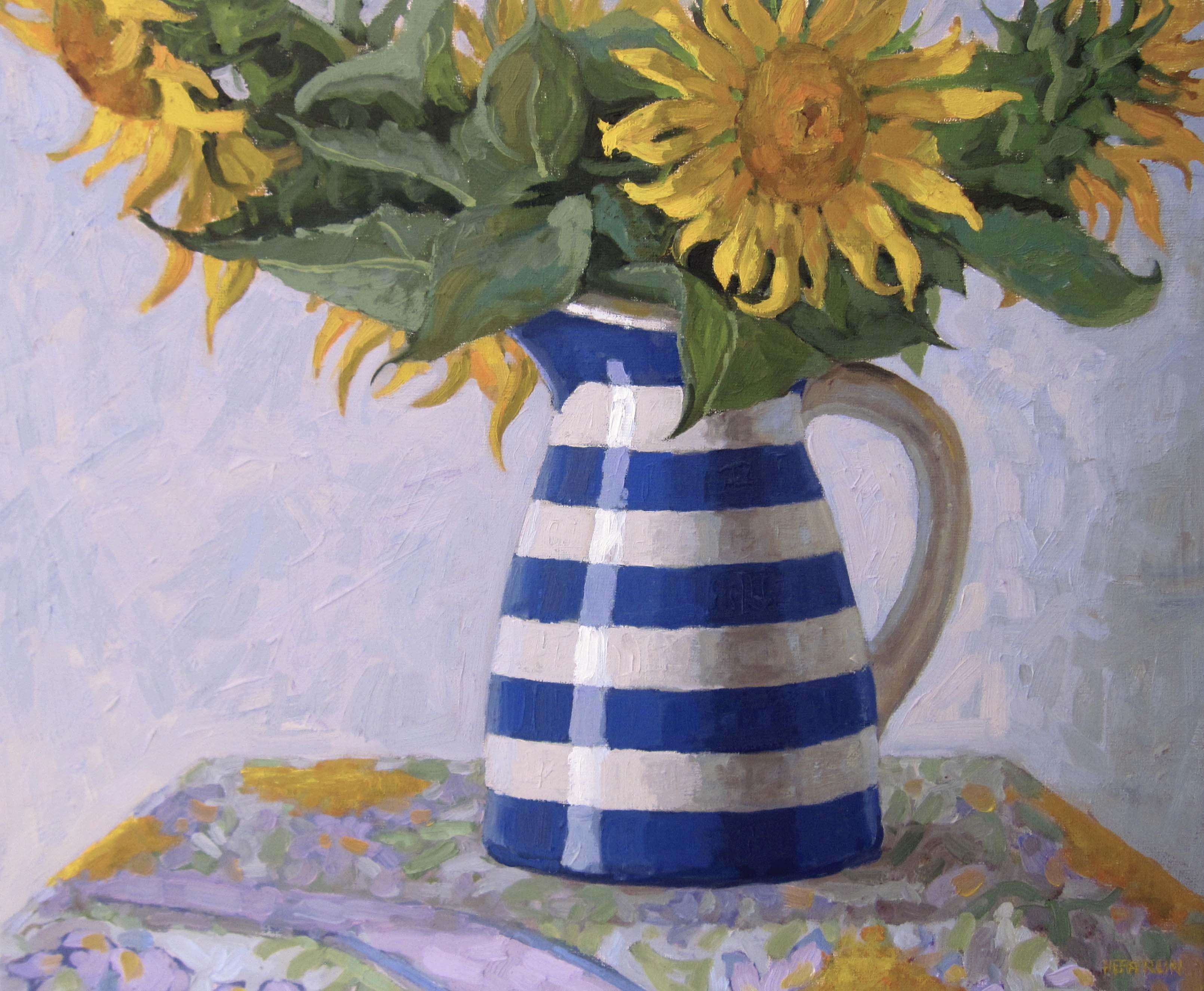 Spanish Sunflowers by  Melissa Hefferlin - Masterpiece Online